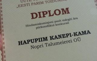 eesti parim toiduaine